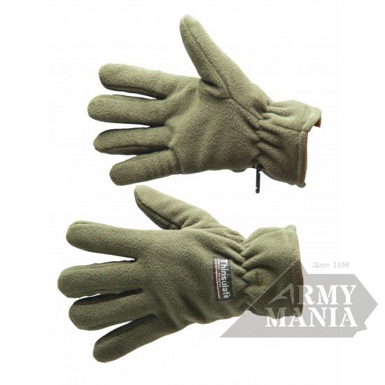 Γάντια Fleece Ισοθερμικά Λαδί Armymania - 202598 Αξεσουάρ Στρατιωτικα ειδη - armymania.gr