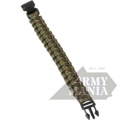 Βραχιόλι Survival Λαδί Armymania C170-7