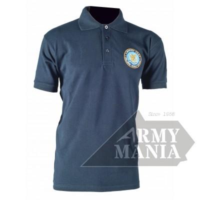 Μπλουζάκι Πόλο Λιμενικού με Κέντημα Μπρος-Πίσω Armymania