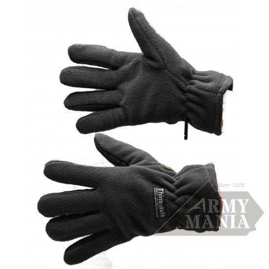 Γάντια Fleece Ισοθερμικά Μαύρα Armymania - 20451435 Αξεσουάρ Στρατιωτικα ειδη - armymania.gr