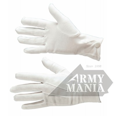 Γάντια Θερινής Στολής Λευκά Armymania